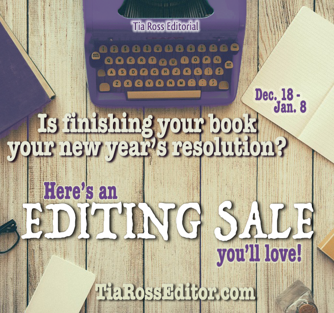 Tia Ross Editorial Editing Sale